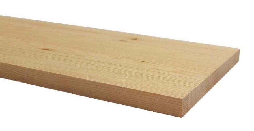 Līmēta masīvā koka plāksne  1200x200x18mm Priede Opus