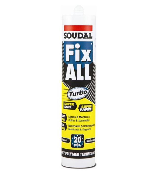 Fix ALL TURBO adhesive sealant white 290ml