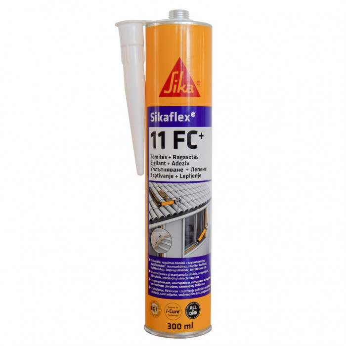 Sikaflex®-11 FC+ 1-part elastic joint sealant and multipurpose adhesive white