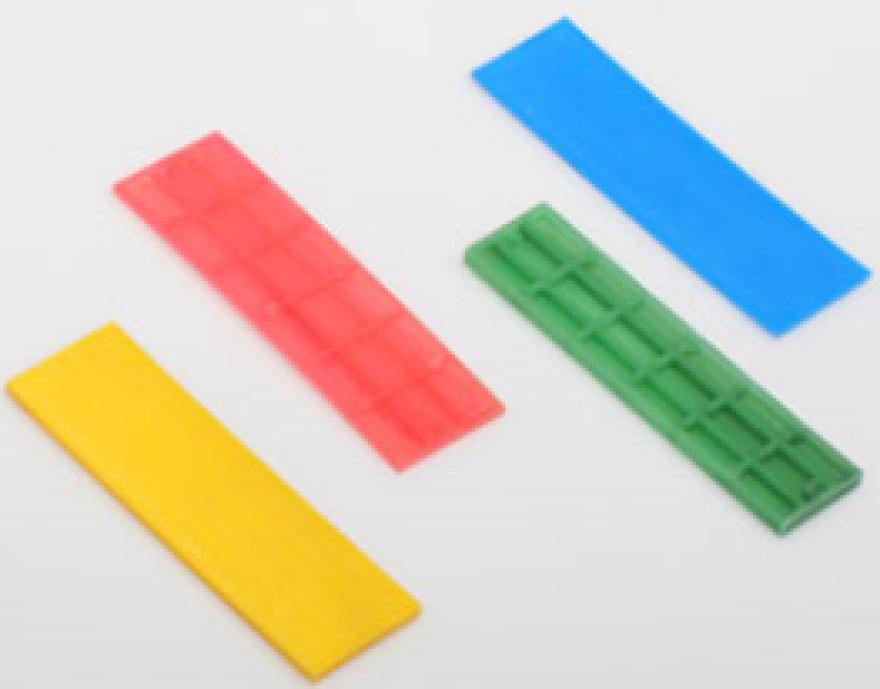 Distancers plastmasas balts  1.0x30mm
