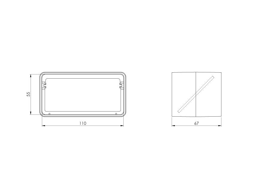 valveplastic,110x55mm