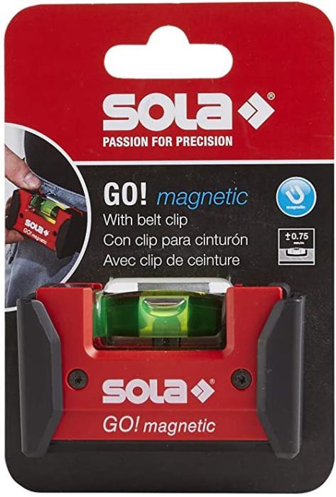 Уровень Sola GO! magnetic CLIP, 1621201