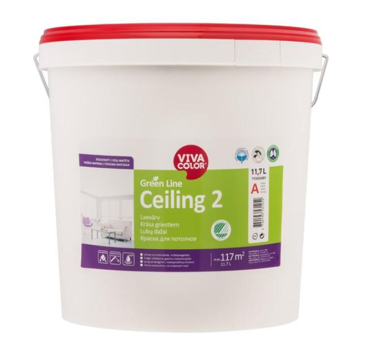 VIVACOLOR GL Ceiling 2 A 18L Deep matt ceiling paint