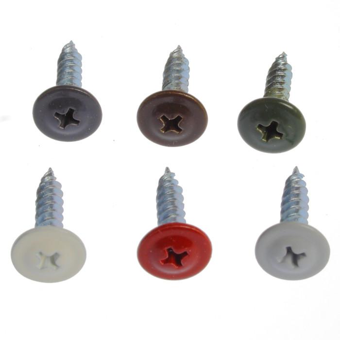 Montāžas skrūve krāsota 4.2x19 gaiši pelēka (1000) RR21