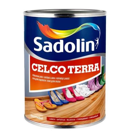 Sadolin CELCO TERRA 20  1L  Pusmatēta alkīduretāna laka