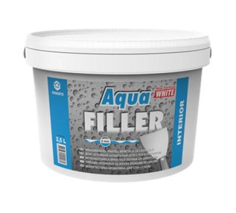 Eskaro AQUA FILLER 0.6l  Mitrumizturīga špakteļmasa