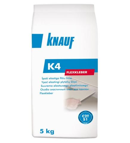 Knauf K4 īpaši elastīga flīžu  līme 5kg