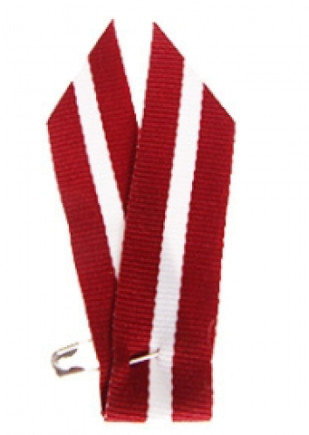 Latvijas Valsts karogs-lentīte  piespraude