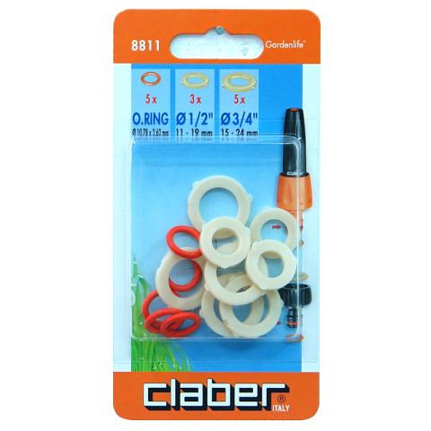 8811 CLABER  blīvgumiju  remkomplekts, 13gab.  448811
