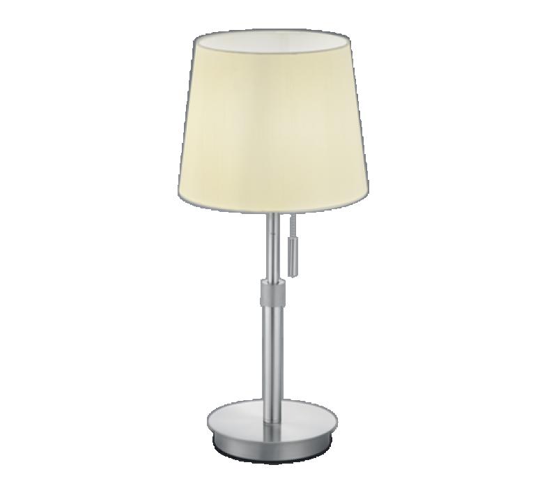Настольная лампа TRIO Lyon 1XE27 max60W regulējams augstums nickel 509100107