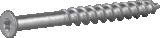 Skrūve vieglbetona 8x90mm CS gremdgalva 100gab/iep., ESSVE 105303