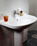 Bathroom sink Nautic 5565 - for bolt/bracket mounting 65 cm