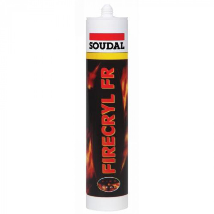 Soudal FIREACRYL white 310ml fireproof sealant