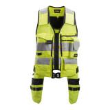 SNICKERS Hi-Vis tool vest 1.class. SizeM (4230/6604-M)