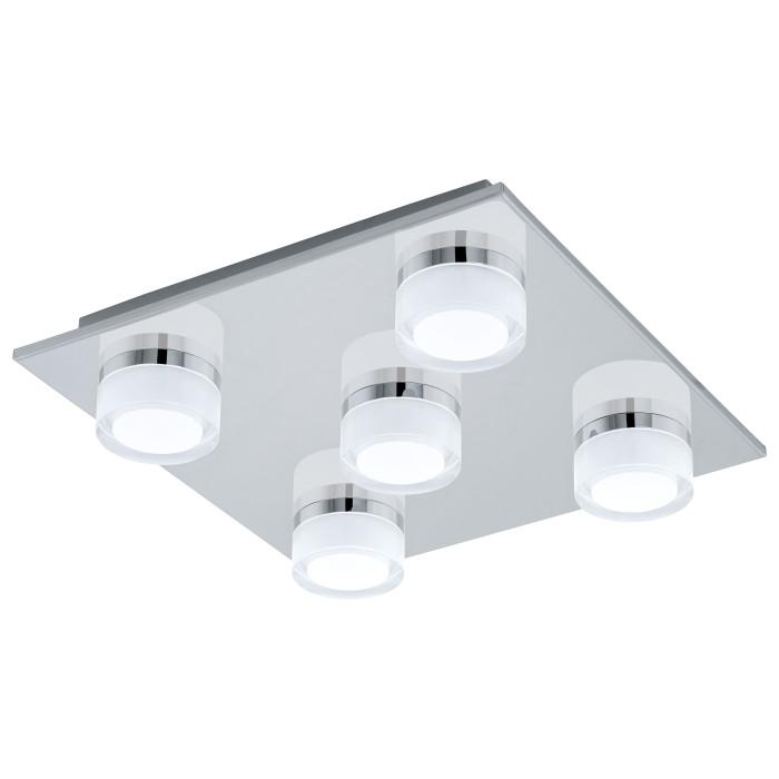Потолочный светильник EGLO Romendo LED5X4.5W 2080lm 3000K IP44 хром 94654