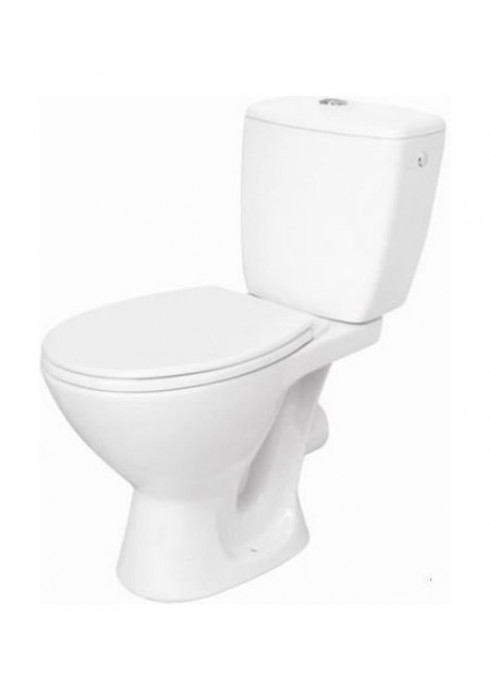 WC COMPACT KORAL 207 3/6L WITH POLYPROPYLENE SEAT