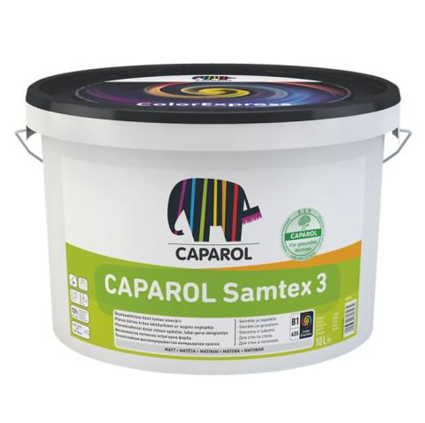 Caparol SAMTEX 3 ELF B1  2.5L  Dziļi matēta lateksa krāsa
