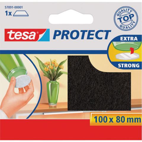 TESA 57891 Aizsargpaliktnis  mēbelēm taisnstūris brūns