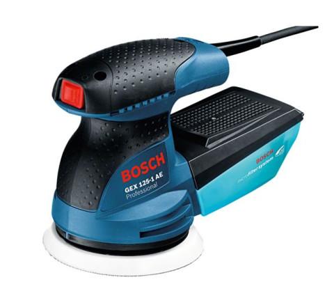Slīpmašīna Ekscentra 125mm,  Bosch GEX 125-1AE 250W  0601387500