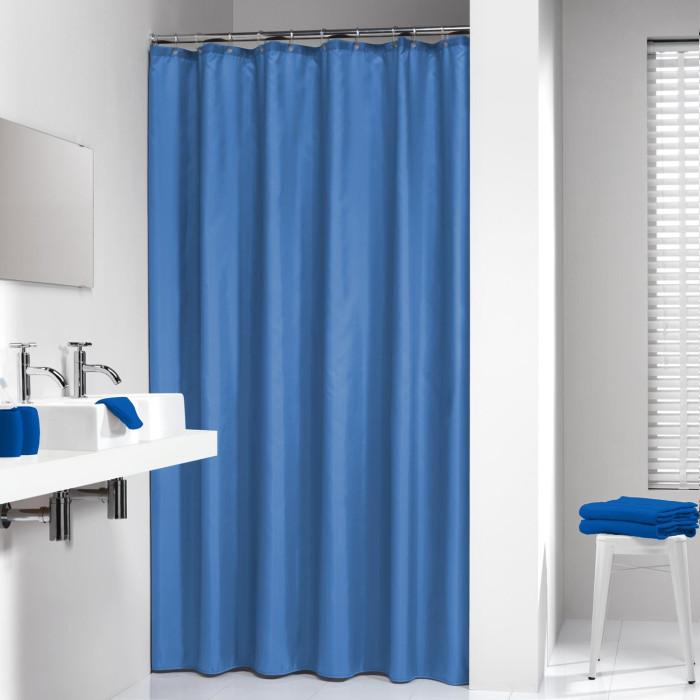 MADEIRA,zils,180*200 cm,auduma dušas aizkars