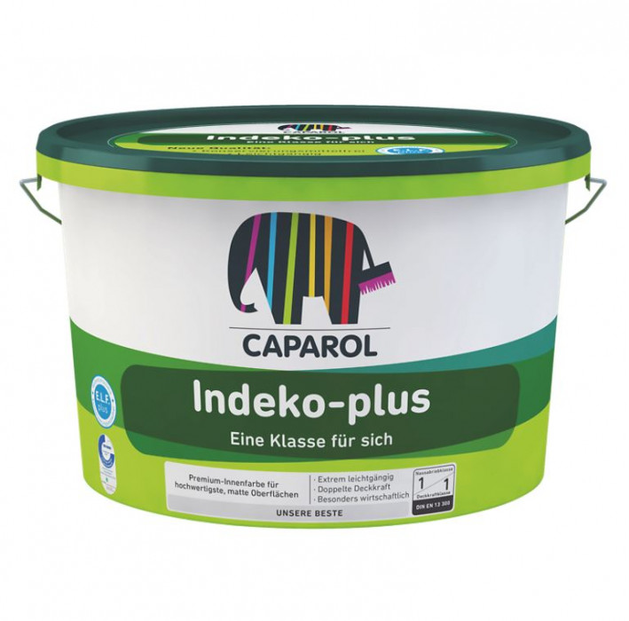 Dispersion paint Caparol INDEKO PLUS B3 2.35L