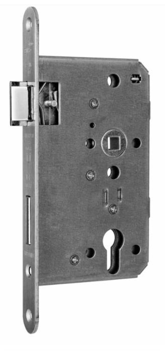 Slēdzene evak.durvīm 1013 PZ65/72/9 lab, pretpl.24x235mm
