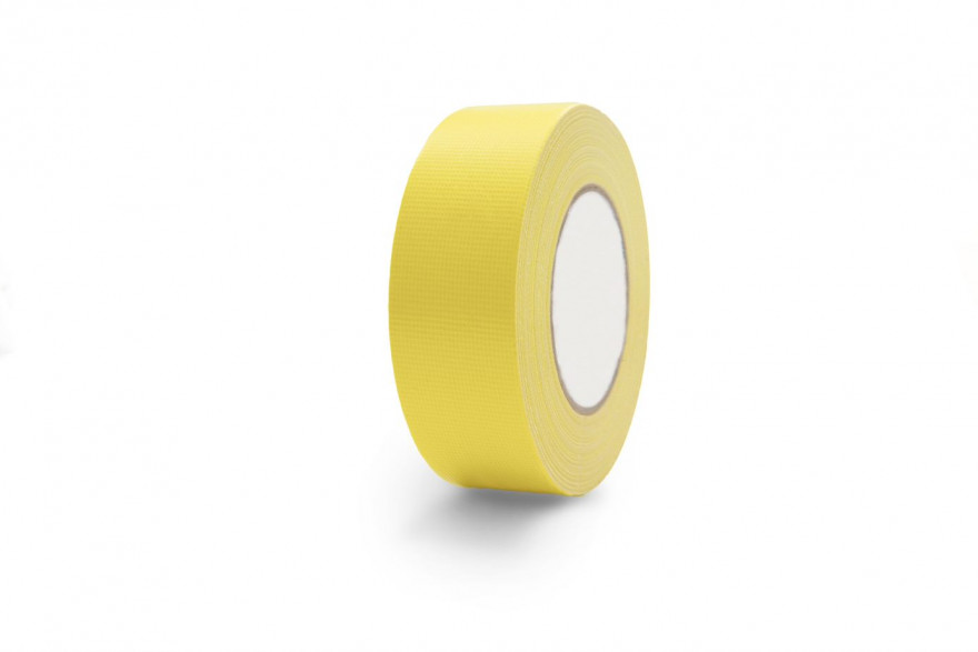 COLOR EXPERT Tape PE 44mmx50m yellow,high adhes. Strength