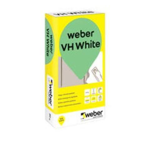 weber.vetonit VH  5kg  balta  mitrumizturīga špaktele