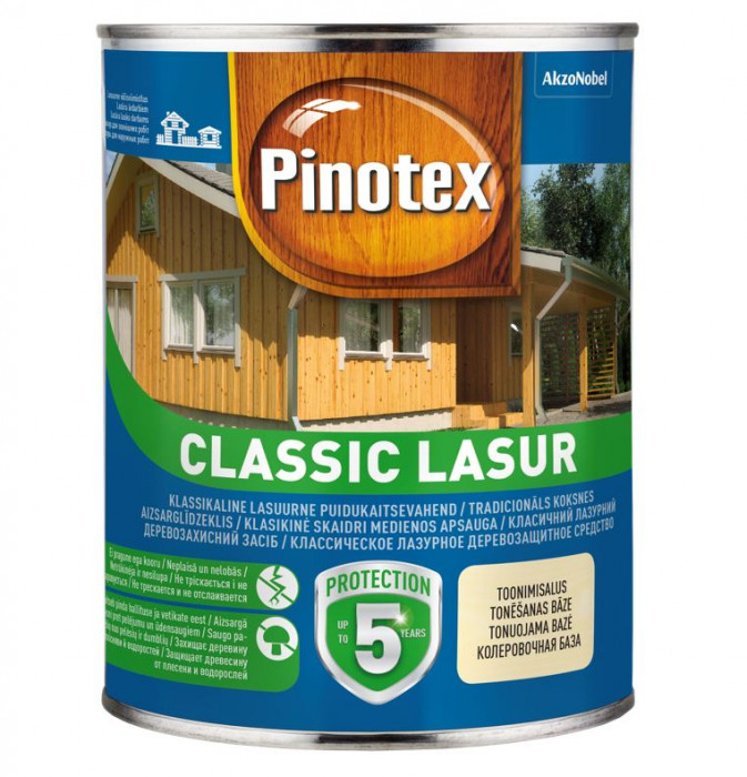 Pinotex CLASSIC LASUR 1L rowan berry