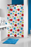 SEBASTIAN,daudzkrās.,180*200 cm,vinila dušas aizk