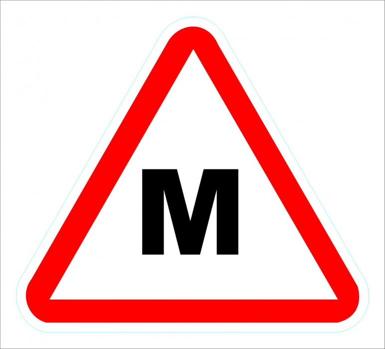 Sign ''M'' H-12