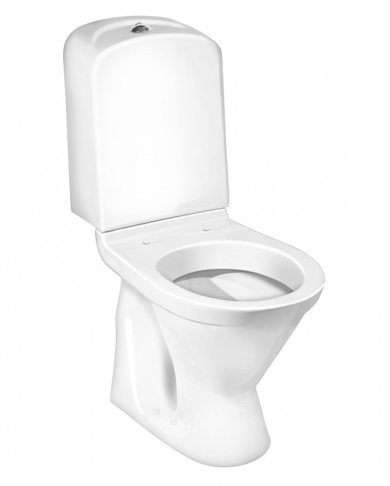 Toilet Nordic³ 3510 - concealed P-trap Dual flush 3/6 L, without seat