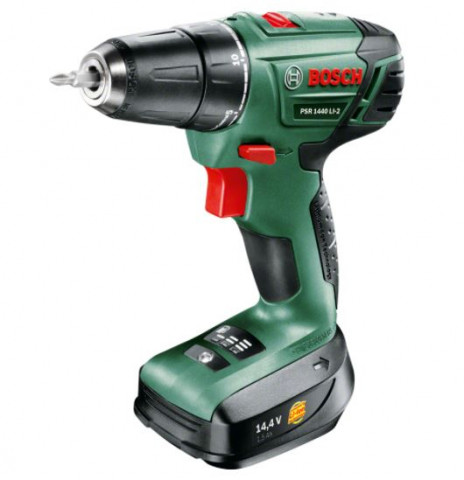 Aku. skrūvgriezis Bosch PSR  1440 Li-2 1x1.5 Ah  06039A3020
