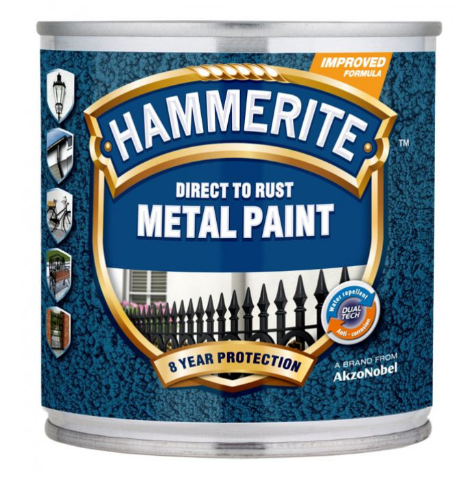 ANTICORROSIVE PAINT HAMMERED BROWN 250ML