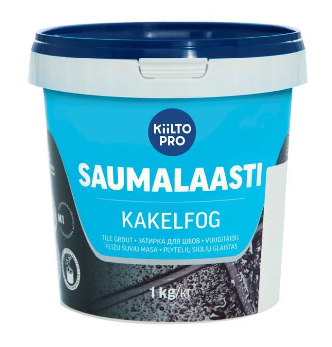 Kiilto SAUMALAASTI Nr.41   1kg  Tile Grout Medium-Grey