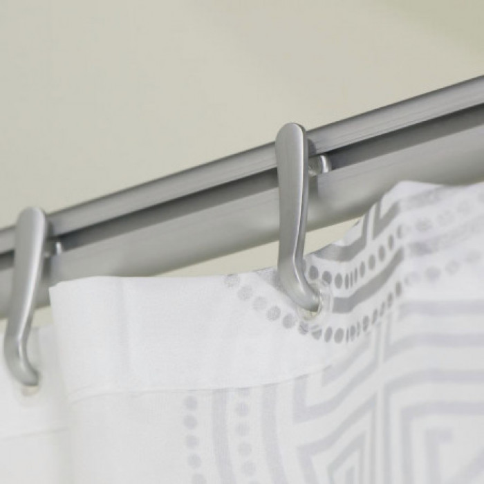 Dušas aizk.stienis EASY ROLL 90x90/170x80 mat.alum