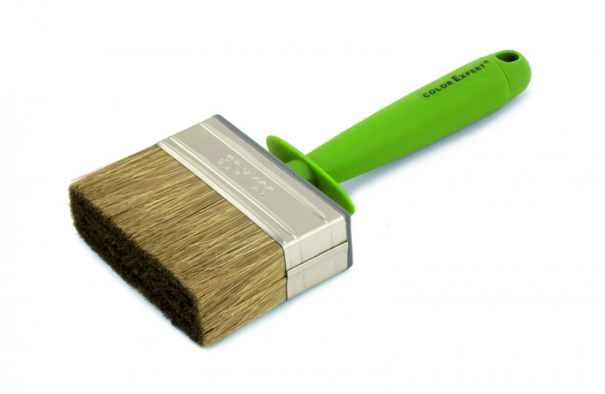 COLOR EXPERT Wall brush 3x10 mixed bristle, plastic body and 1K handle
