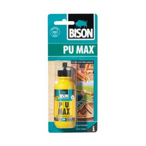 Bison PU MAX 50ml  D4  Poliuretāna līme kokam