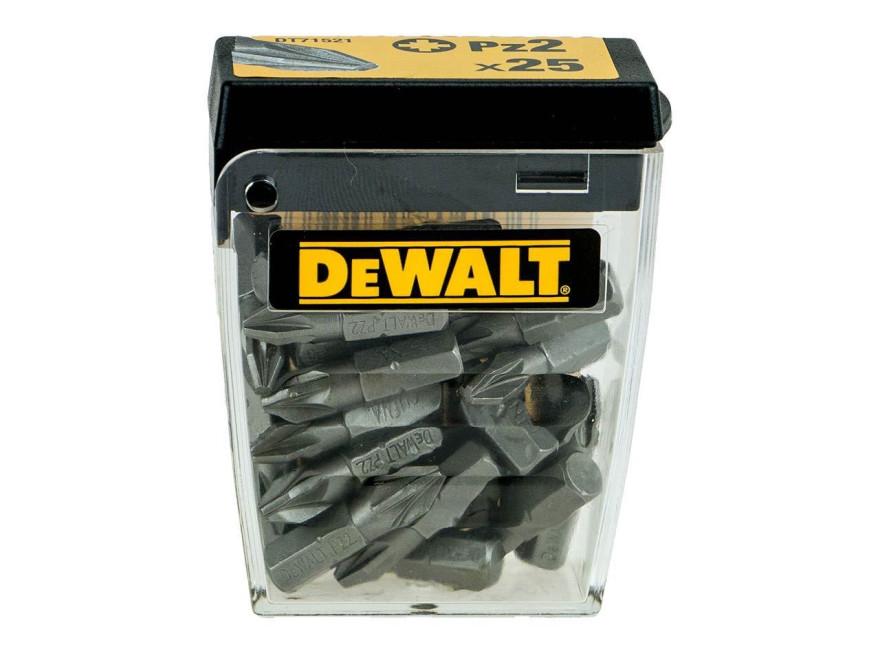 DeWalt uzgaļu komplekts  PZ2 25mm 25gab.