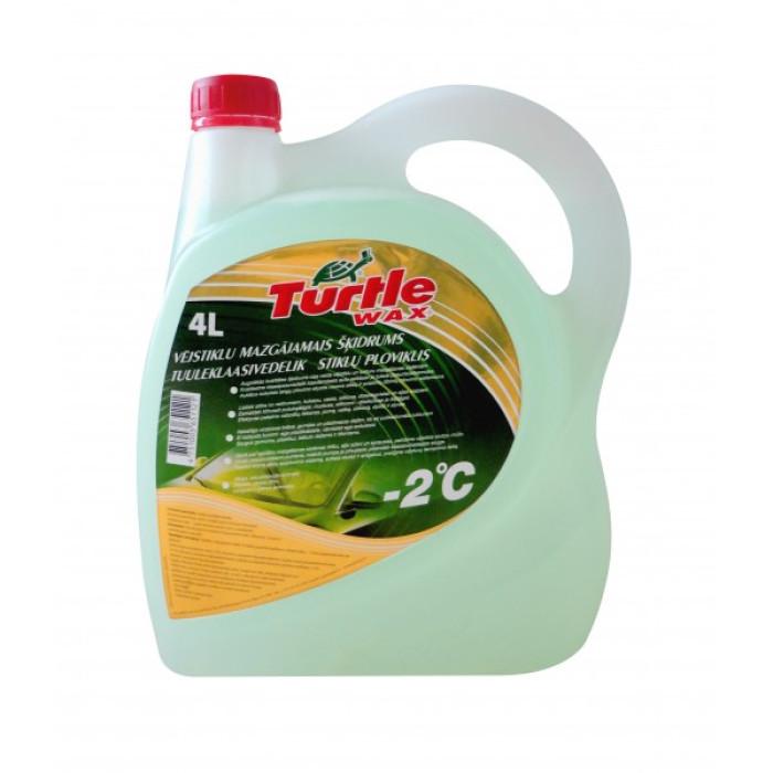 Turtle Wax Summer Windshield Cleaner 4l -2°C