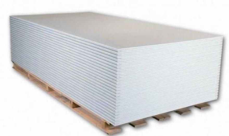 Ģipškartons GKB S 1200x2600mm,standarta 64lok/pal NORGIPS