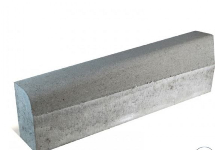 Road edge 1000x150x220-300.right, gray GBD 30-4 9pcs / piece 88.60kg / pallet