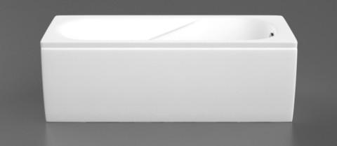 Vanna Vispool CLASSICA 150x75  bez paneļa , balta  Komplektā iekļauts sifons un vannas kājas.