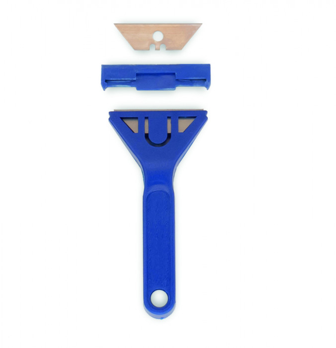 COLOR EXPERT Plastic glass scraper 60mm, fixed blades