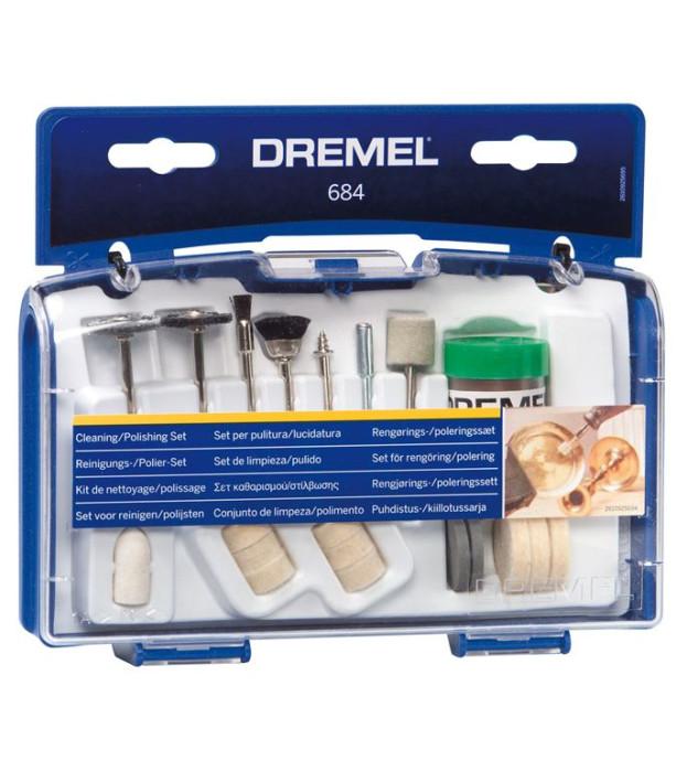 Cleaning / Polishing Set  Dremel 684