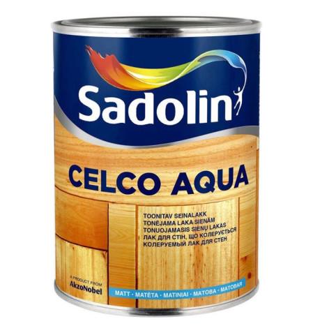 Sadolin CELCO AQUA 10  1L  Matēta akrila laka