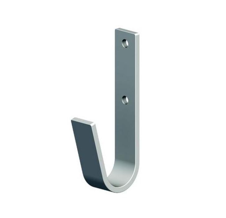 Wall hook 35x82 max.90kg Steel/galvanized