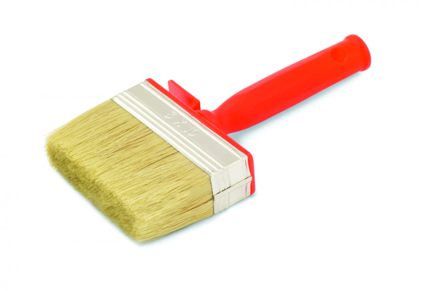 COLOR EXPERT Wall brush 3x10 light mixed, bristle,plastic body a. Handle