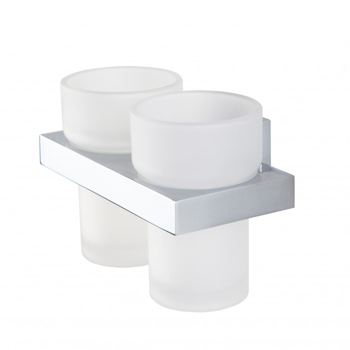 ITEMS tumbler holder with 2 tumblers