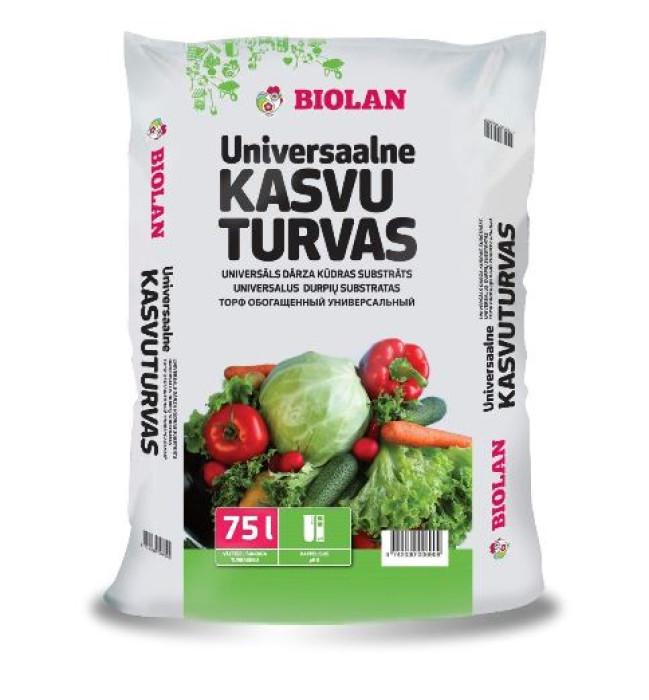 Biolan 75l Dārza kūdras  substrāts (14kg)